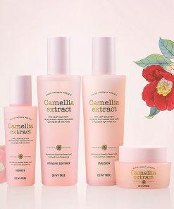 bộ dưỡng tinh chất hoa trà Camellia 01