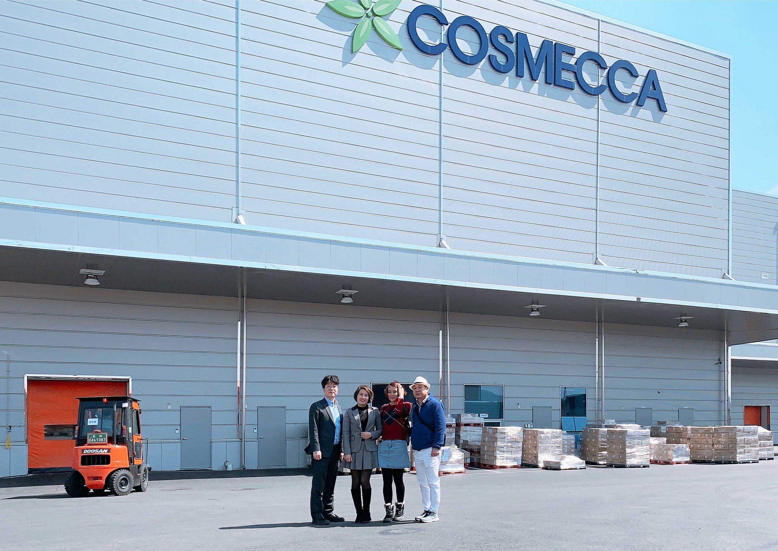 Cosmecca - 1 trong 3 tập đoàn sản xuất mỹ phẩm lớn nhất Hàn Quốc